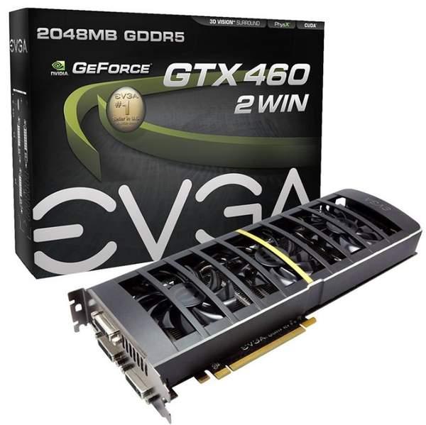 Видеокарта GeForce GTX 460 2WIN