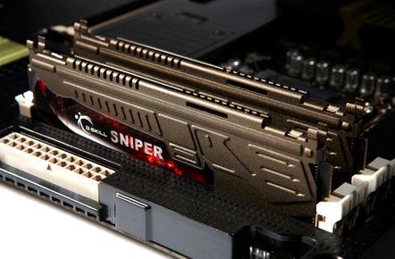 Модули памяти G.Skill Sniper защитного цвета