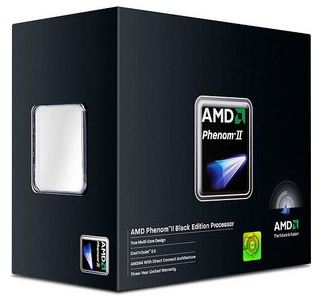Новый процессор AMD Phenom II X4 980 Black Edition