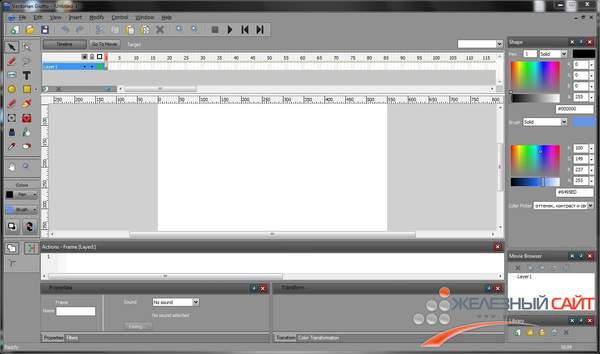 Новая версия программы Vectorian Giotto