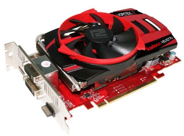 Видеокарта PowerColor HD 6770 PCS+ оборудована фирменным кулером Vortex II