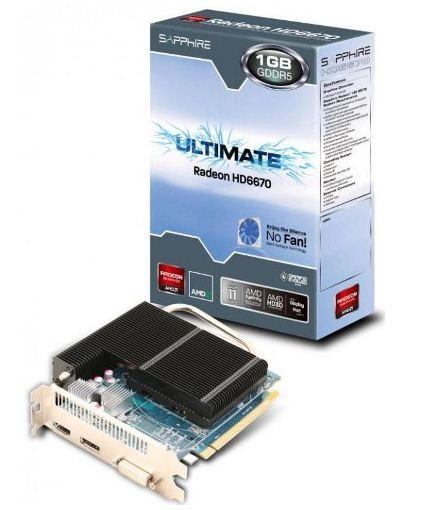 Новинка Sapphire HD 6670 Ultimate