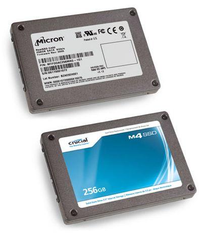 SSD диски Crucial новой серии m4