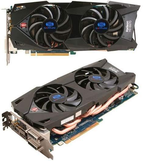Видеокарта Sapphire Radeon HD 6970 2 Гб