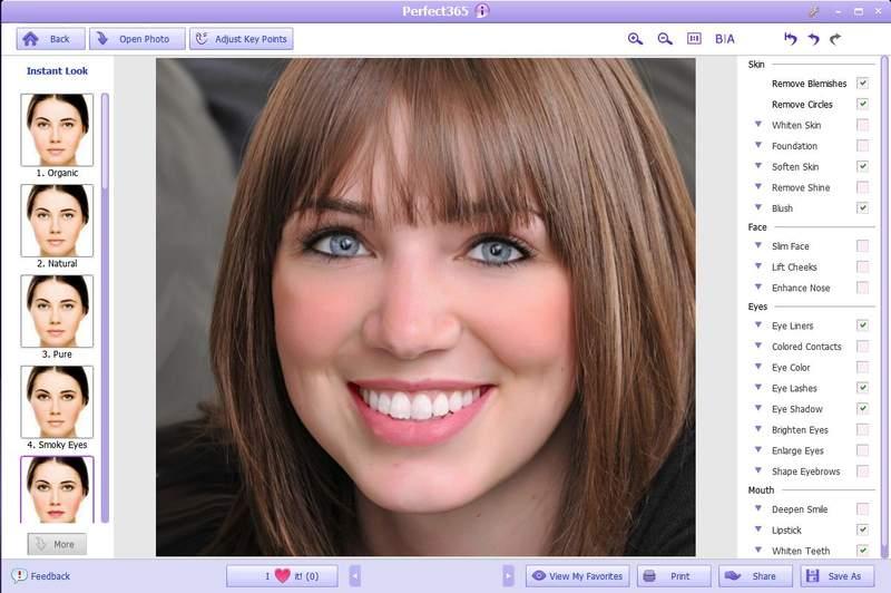 Графический редактор ARCSOFT Perfect365