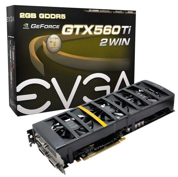 Видеокарта EVGA GeForce GTX 560 Ti 2Win