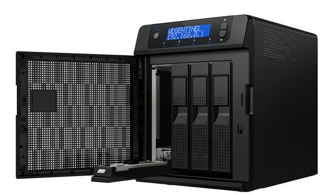 Сетевое хранилище WD Sentinel DX4000