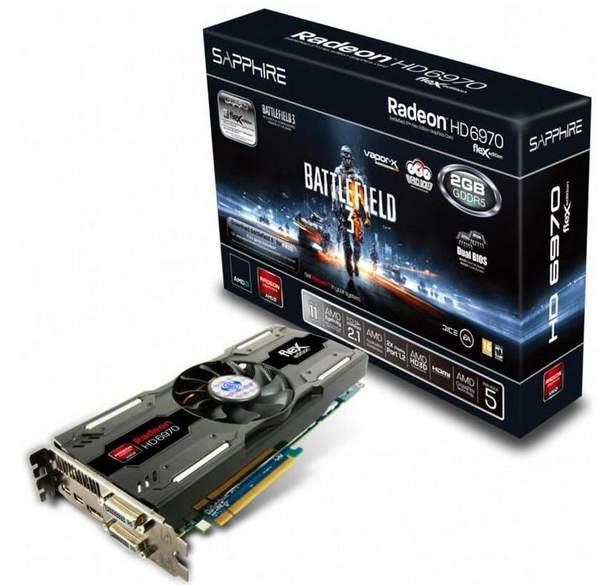 Видеокарта Sapphire HD 6970 Battlefield 3 Special Edition