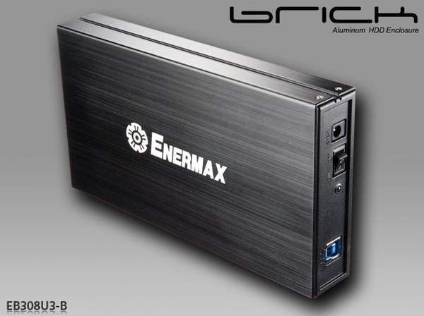 Корпуса Brick для HDD/SSD от Enermax