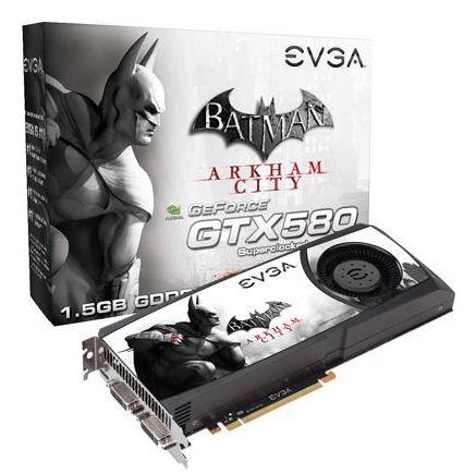 Видеокарта EVGA GeForce GTX 580 Batman: Arkham City