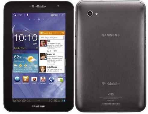 Планшет Samsung Galaxy Tab 7.0 Plus обрел поддержку 4G