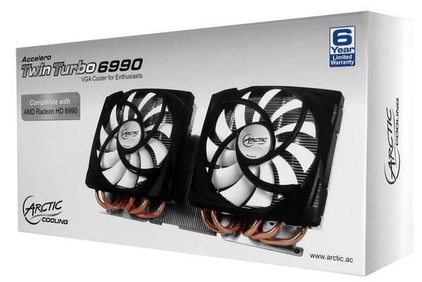 Кулер VGA Arctic Accelero Twin Turbo 6990