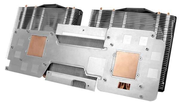 Охлаждение видеокарты Arctic Accelero Twin Turbo 6990