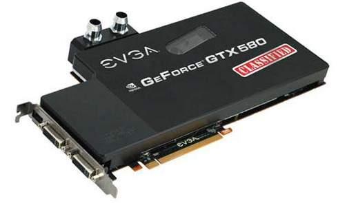 Компания EVGA разработала новые модели видеокарта GTX 580 Classified
