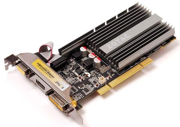 Видеокарта Zotac GeForce GT 520 PCI