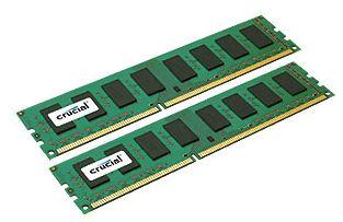 Модули памяти Crucial емкостью 8 Гб