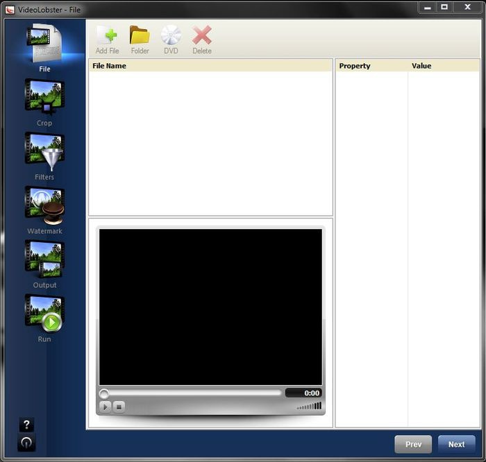 VideoLobster - бесплатный конвертер видео