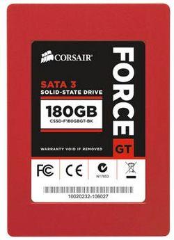 Появились модели SSD Corsair Force GT объемом 180 и 240 Гб
