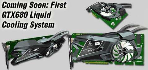 InnoVision планируют выпустить GTX 680 с гибридным кулером