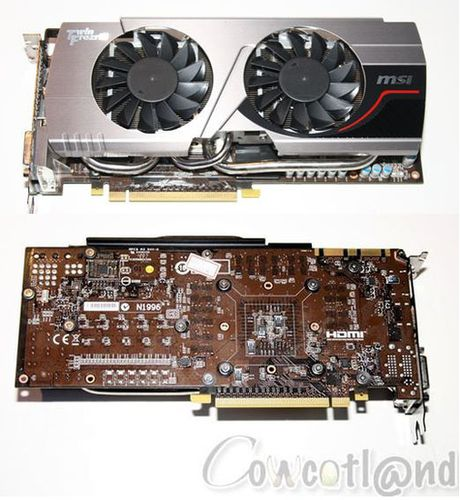 Видеокарта MSI GTX 680 Twin Frozr III