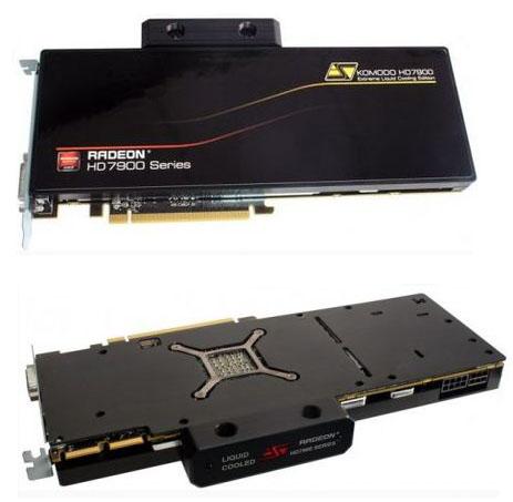 Водоблок Swiftech Komodo HD 7970