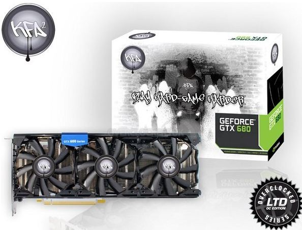 Видеокарта KFA2 GeForce GTX 680 Hall of Fame