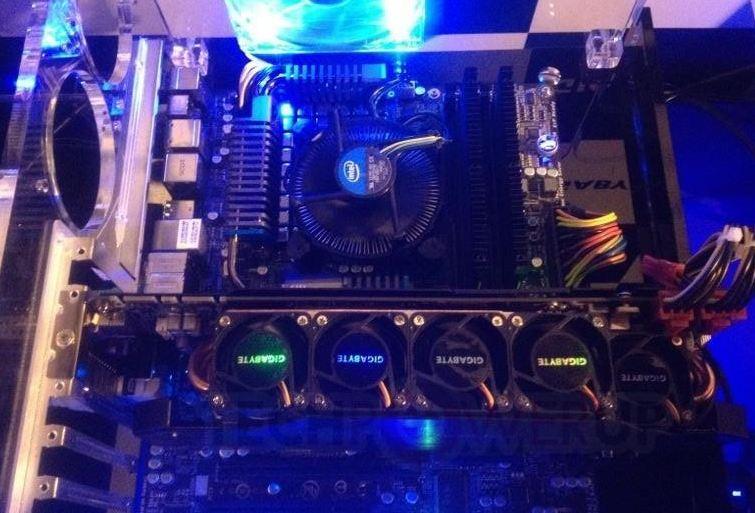 Система охлаждения WindForce 5X в действии