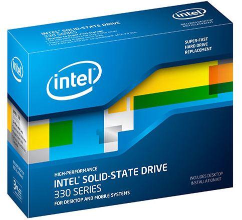 Твердотельные диски Intel серии 330