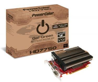 PowerColor Radeon HD 7750 Go! Green