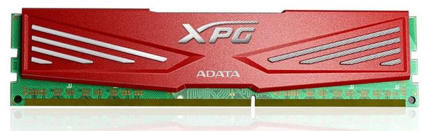 красный цвет - XPG DRAM 1866 МГц и 2133 МГц, CL10
