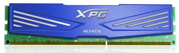синий цвет - XPG DRAM 1600 МГц, CL11;
