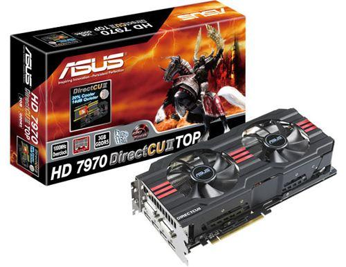 Видеокарта Asus HD 7970 DirectCU II TOP