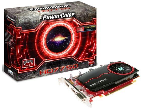 Видеокарта PowerColor HD 7750