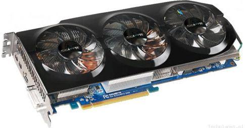 Видеокарта Gigabyte WindForce x3 HD7950