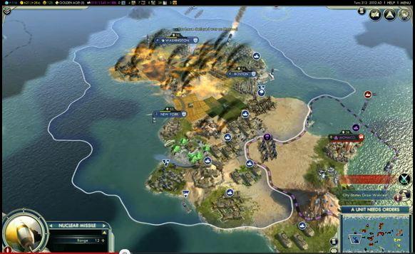На весну запланирован выход обновления для игры Civilization V