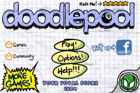 Игра Doodle Pool