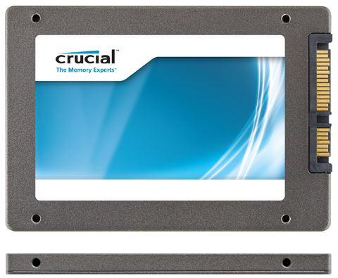 Ультратонкий SSD Crucial m4