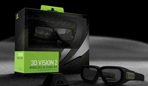 Комплект NVIDIA 3D Vision 2