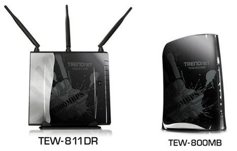 Маршрутизаторы TEW-811DR и TEW-800MB