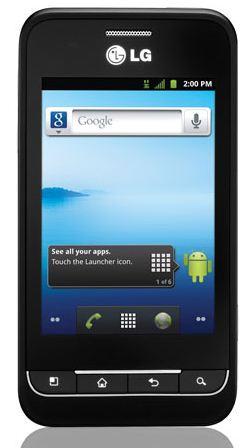 Смартфон LG Optimus 2