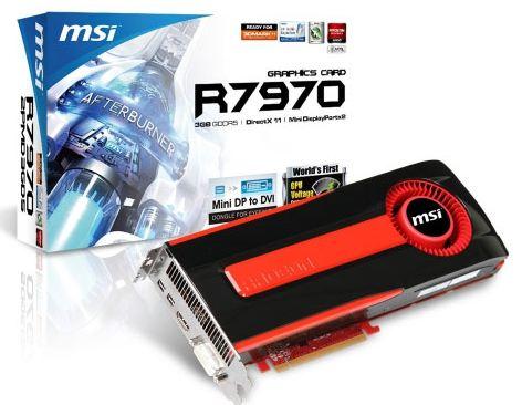 Видеокарта MSI R7970-2PMD3G5
