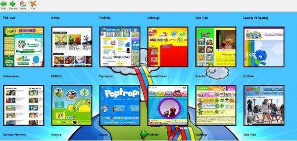 Браузер Weblock For Kids