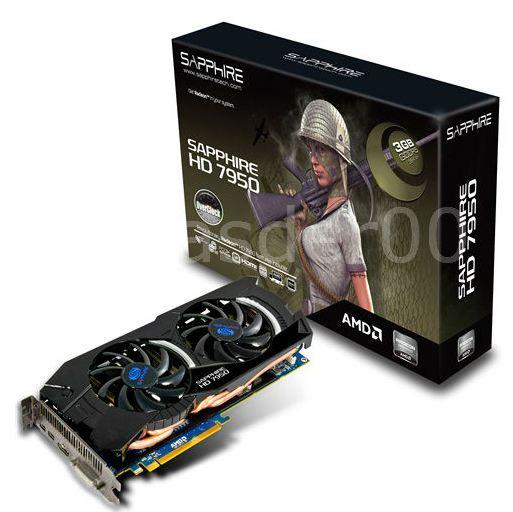 Видеокарта Sapphire HD 7950