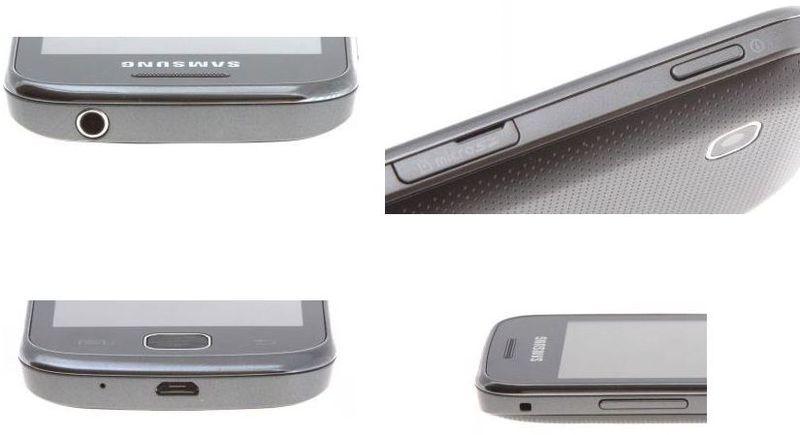 Средства управления Samsung Galaxy Gio