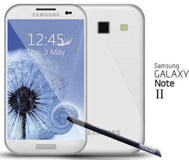 Смартфон Galaxy Note II