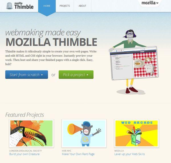 Сервис Thimble