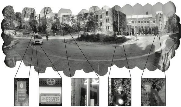 Снимок камерой с разрешением в один гигапиксель