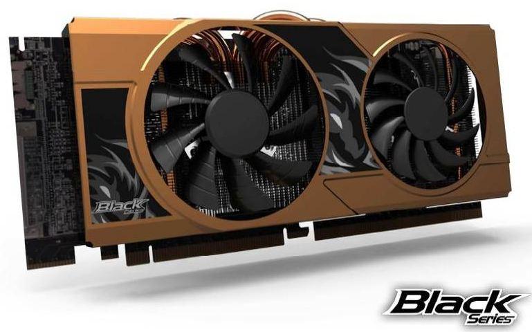 Видеокарта GTX 680 Black Series