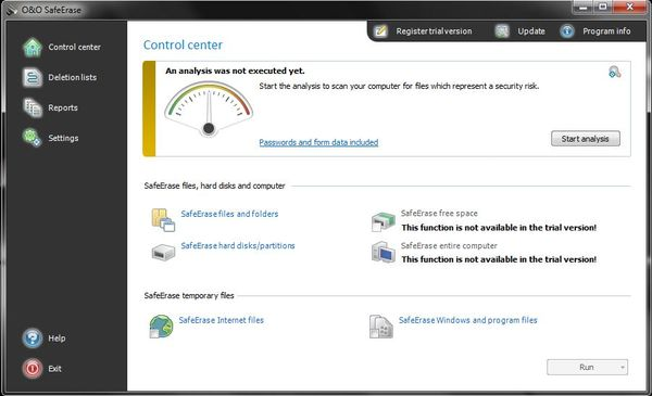 Новая версия программы O&O SafeErase 5.1