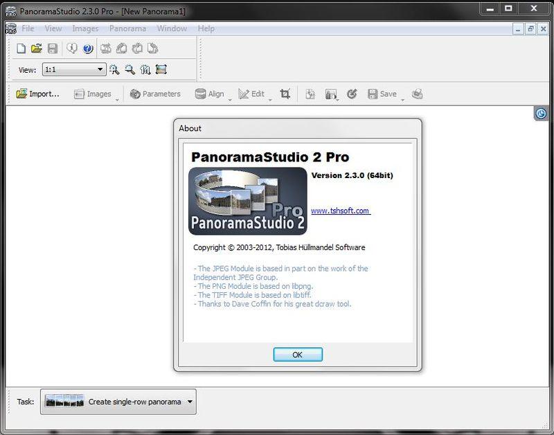 Программа PanoramaStudio